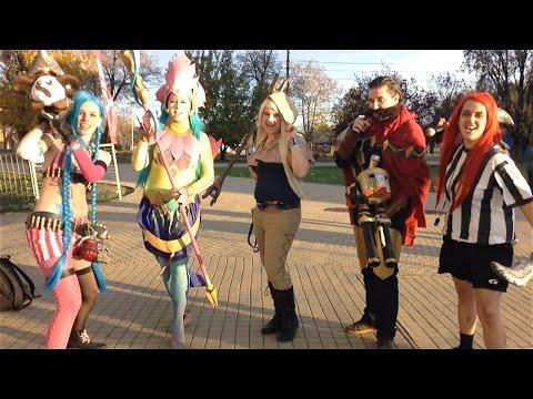 League of Legends cosplay @ PlayIT Show - Debrecen 2015.11.14.