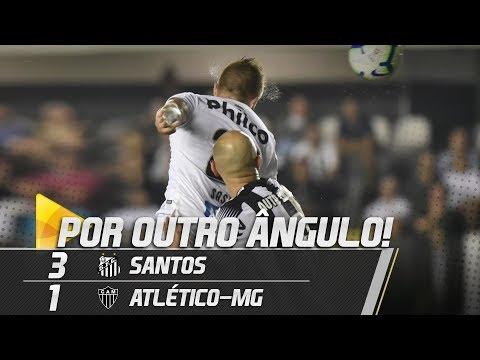 SANTOS 3 X 1 ATLÉTICO MG | GOLS POR OUTRO ÂNGULO | BRASILEIRÃO (09/06/19)