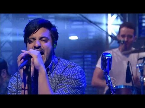 """[HD] Young The Giant - """"It's About Time"""" 2/27/14 David Letterman"""