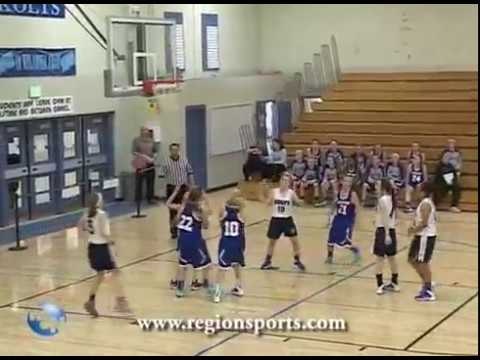 Highland vs Kahler Middle School Girls Basketball