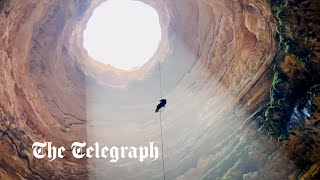 video: Cavers discover what lurks in Yemen's 'Well of Hell' for first time
