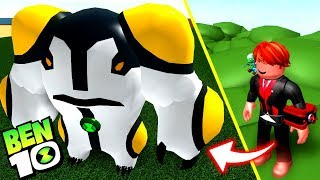ROBLOX! NEW ALIEN CANNONBALL IS FASTER THAN XLR8? -BEN 10 ARRIVAL OF ALIENS REMAKE