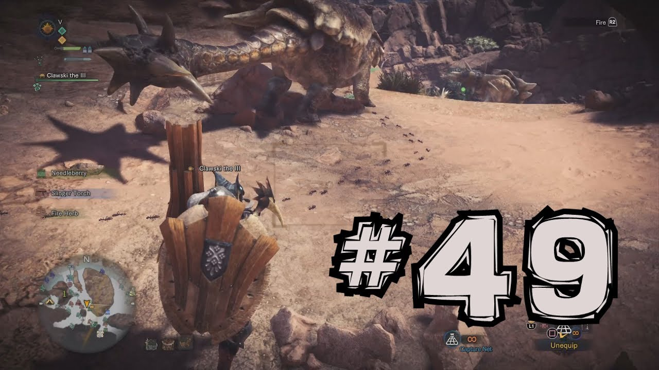 monster hunter world how to catch ants