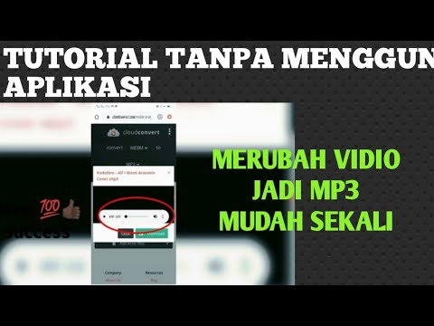 tutorial how to convert video to mp3 without application  only 30 seconds