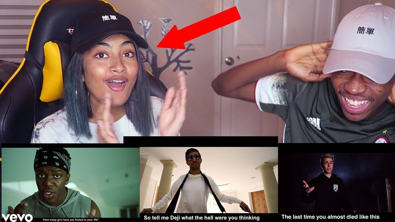 vikkstar's sister reacts to the sidemen diss tracks!!! - youtube