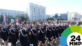 В параде Победы в Хабаровске впервые участвовали девушки - МИР 24