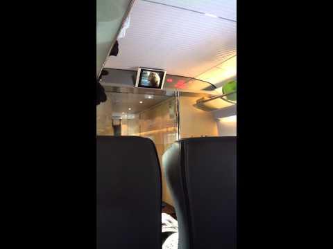 Вагон поезда Сапсан Москва - Санкт-Петербург