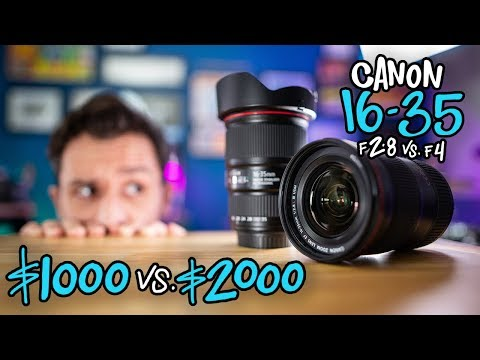 Canon 16-35 F2.8 Vs. F4: Is It Worth The Extra $1000?