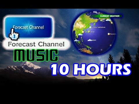10 Hours: Wii Weather Forecast Channel Music (Globe at Night)