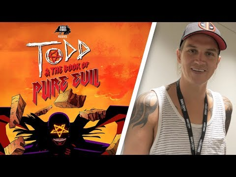 Jason Mewes Talks Todd and the Book of Pure Evil - Fan Expo Canada 2017 Interview