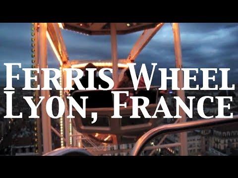 Ferris Wheel, Lyon France (Place Bellecour)