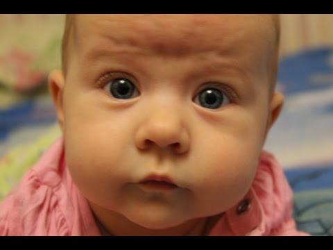Ребенок в 4 месяца /развитие/умелки