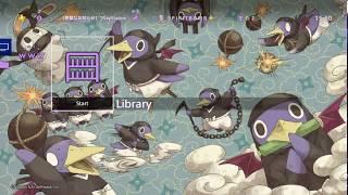 Destiny Connect: Ninja Prinny Free PS4 Theme
