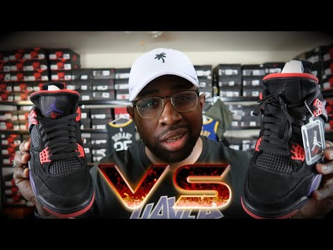 purchase cheap 24027 2cdca JORDAN 4 OVO DRAKE SIGNATURE VS RAPTOR 4!!! WHAT IS THE DIFFERENCE?