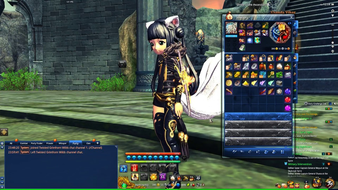 Warlock upgrading to stage 7 Seraph (Blade & Soul Eu) - Purarity