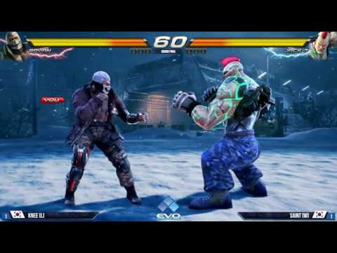 Tekken 7 FR  Knee vs Saint Grand Final - Tekken 7 Bryan Furry Game Play -Tekken 7 Jack 6 Game Play