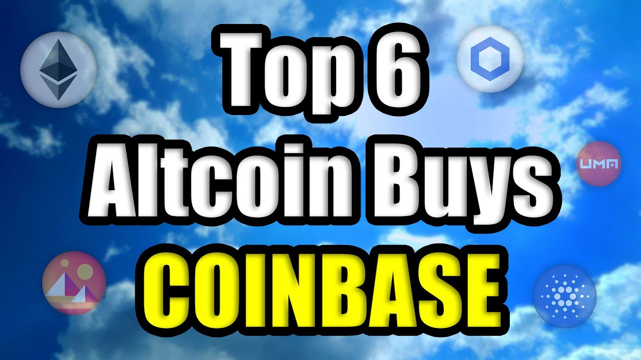TOP 6 MOST EXPLOSIVE CRYPTOCURRENCIES ON COINBASE IN 2021 | Coinbase Stock on NASDAQ April 14th!