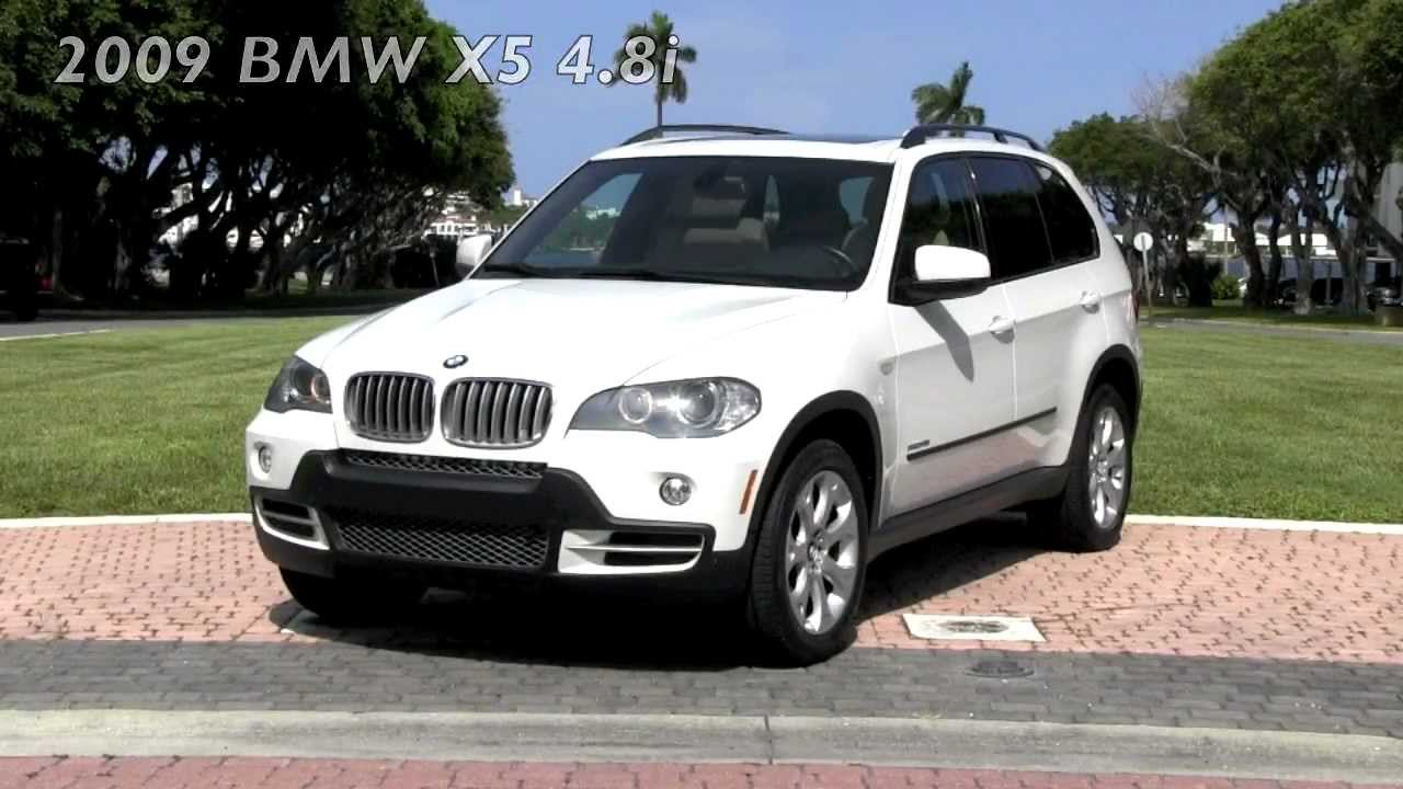 2009 Bmw X5 Xdrive 4 8i Alpine White Autos Of Palm Beach
