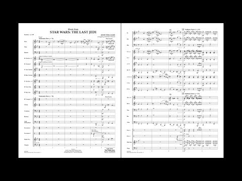 Music from Star Wars: The Last Jedi by John Williams/arr. Johnnie Vinson