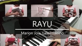 Rayu - Marion Jola, Laleilmanino (Piano Percussion Cover With Lyrics)