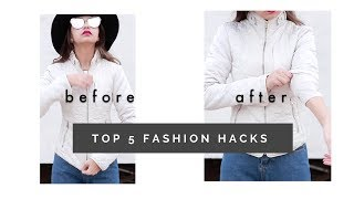 T O P   5  F A S H I O N  H A C K S  To Look Stylish and Chic    T e j a s w i  Giveaway month