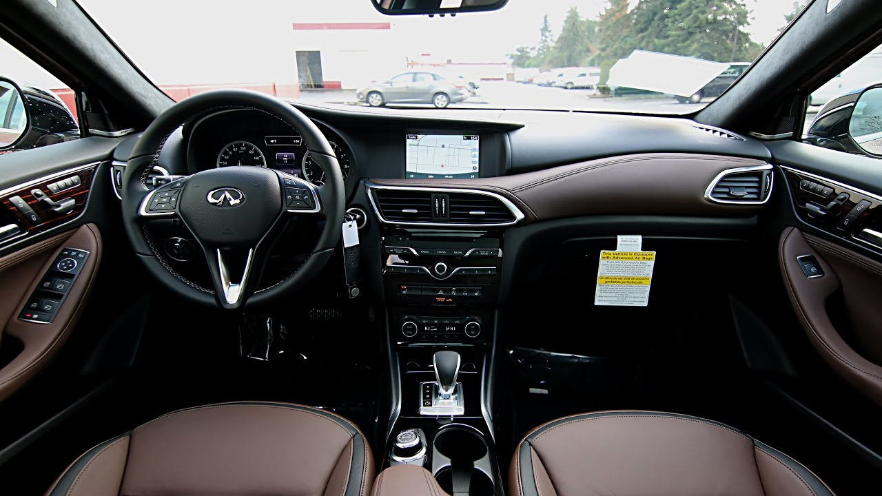 2017 Infiniti Qx30 Awd With Cafe Teak Theme Package