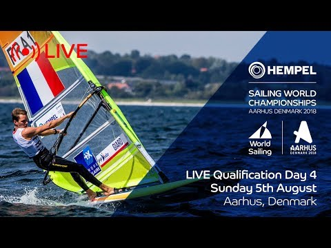 LIVE Sailing  Hempel Sailing World Championships  Qualification Day 4