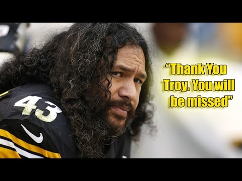 Troy Polamalu Retires from the NFL!?!