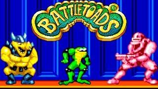 Battletoads: прохождение Боевые Жабы (Sega Mega Drive, Genesis)