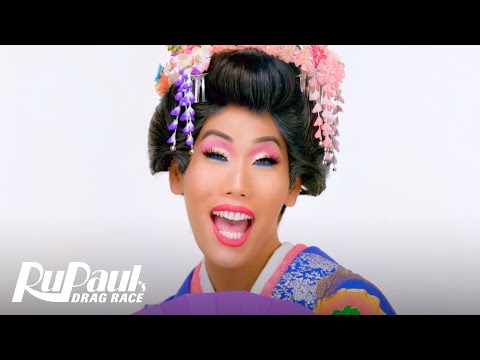 Gia Gunn's 'Geisha' Makeup Tutorial | RuPaul's Drag Race All Stars 4