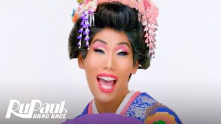 Gia Gunn's 'Geisha' Makeup Tutorial | RuPaul's Drag Race All Stars 4