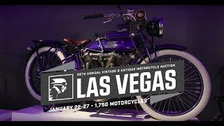 1916 Thor Model U // MC Collection of Stockholm // Mecum Las Vegas Motorcycles