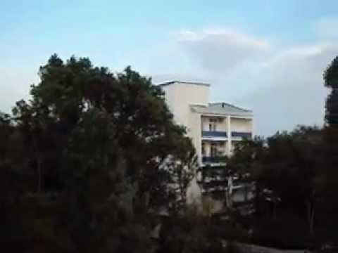 Санаторий Полтава Крым.Вид из номера.Третий корпус