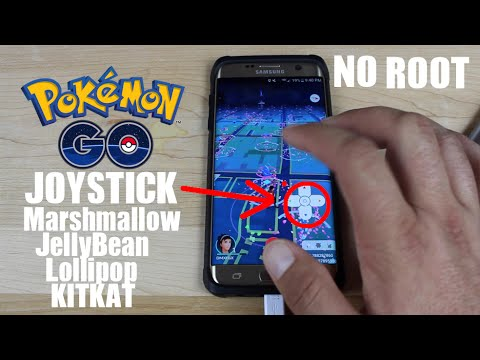 PokeMon Go JoyStick NO ROOT Hack Lollipop KitKat JellyBean ANY ANDROID!