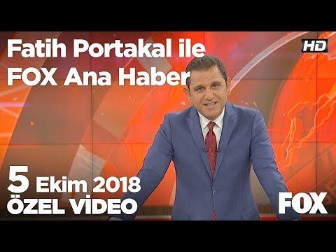 Kim bu stokçular? 5 Ekim 2018 Fatih Portakal ile FOX Ana Haber