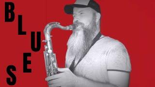 Tuesday Blues (Blues Saxophone solo )