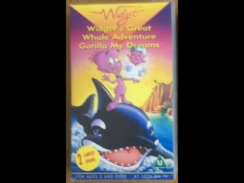 Original VHS Opening: Widget: Great Whale Adventure/Gorilla My Dreams (UK Retail Tape)