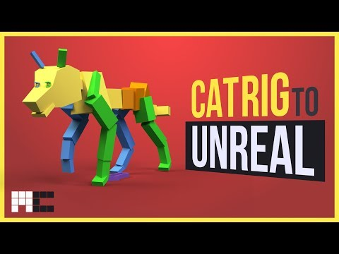 How to Export and Import 3ds Max CAT Rig and Animations into Unreal Engine