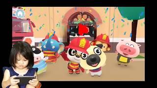 Gambar cover Dr. Panda Fire Fighter | android game | sangat menyenangkan