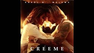 Karol G & Maluma - Créeme (Audio) Video