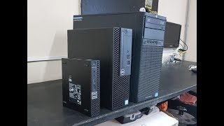 Apresentaço Dell Optiplex 3050 SFF + Monitor P2217H + Upgrade Placa de Video GT1030 e SSD