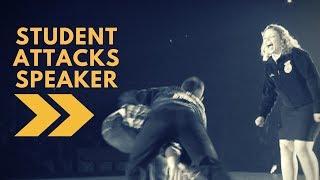 Student ATTACKS Speaker!