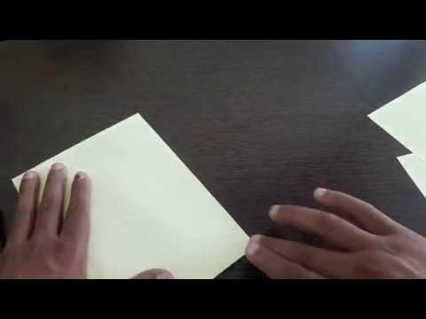 3D Paper House diy Kids Craft Easy Step