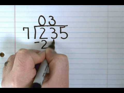 Division: 1 Digit Divisor - YouTube