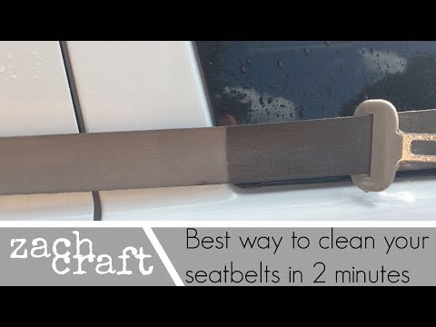 The Best Way To Clean And Detail Your Seatbelts In Under 2 Minutes