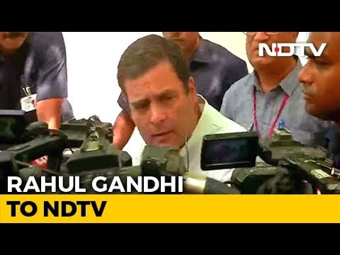 "Rahul Gandhi Makes Clear He'll Go, Says ""There Has To Be Accountability"""