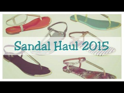 Summer Sandal haul 2015 | Fearless Fatgirl