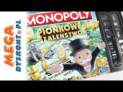 Monopoly Pionkowe Szaleństwo! - Złote Pionki - Gry dla dzieci - Hasbro Gaming