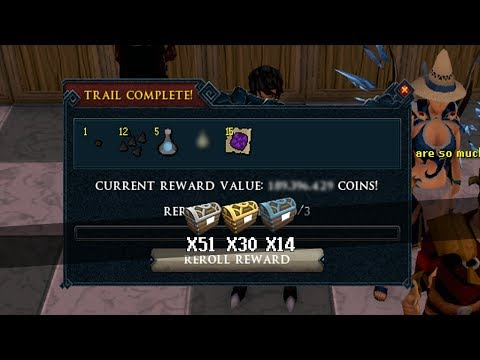 Another One?! Opening 95 Clue Scroll Caskets on RuneScape!