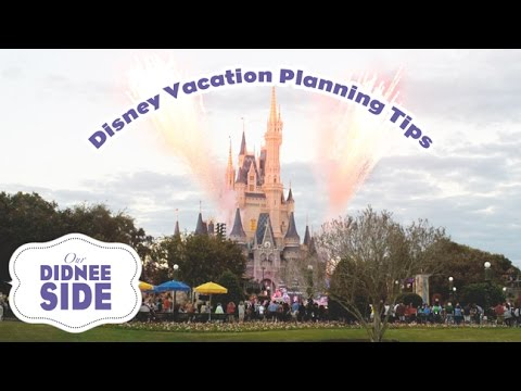 DISNEY VACATION PLANNING TIPS (From Canadian Disney Addicts)